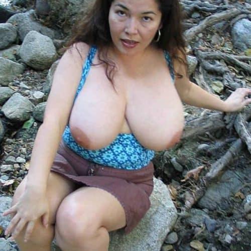 Magst du meine großen Titten?