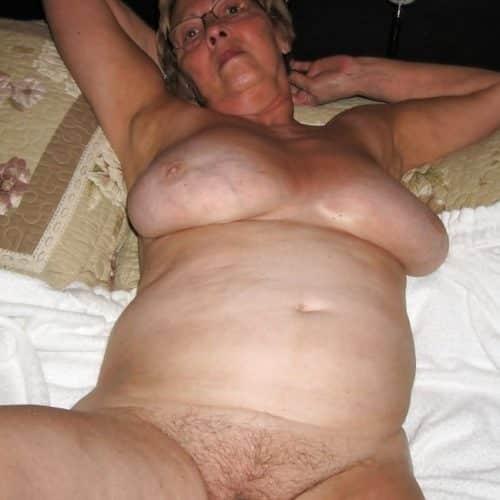 Ich bin eine Oma, die alles für Sex tun würde